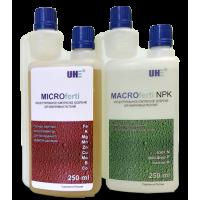 Комплект удобрений UHE MacroFerti NPK 250 мл + UHE MicroFerti 250 мл